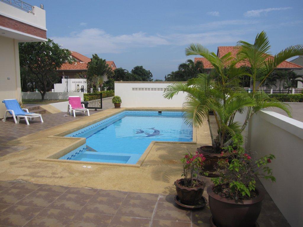 Natural hill hua hin 4 sovrum stor pool villa soi 6