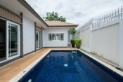 2 Bed Pool Villa in Soi 116 10 mins drive South of Hua Hin Center ฿3,990,000