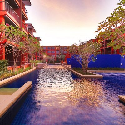 Bluroc Apartments near the city at the beach in Hua Hin