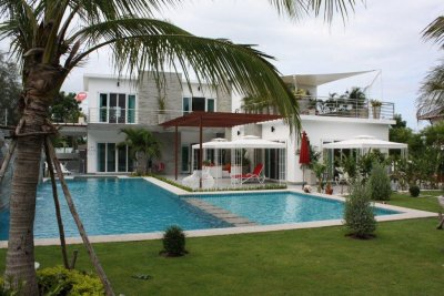 Exclusive pool villa 650 kvm soi 6 Hua Hin