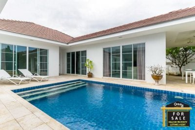 WHITESTONE VILLAS : Good Quality 3 Bed Pool VillaHua Hin