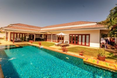 Good Design 3 Bed Pool Villa near Town Centre Hua Hin