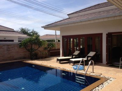Good Location 3 Bed Pool Villa nr Town 5 Minutes Drive West of Hua Hin Centre ฿5,000,000