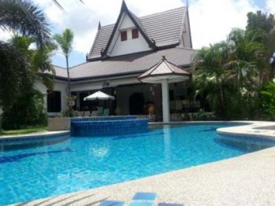 Good Design 4 Bed Pool Villa Hua Hin