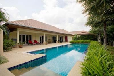 Well Constructed & Designed 3 Bed Pool Villa 10 mins drive West of Hua Hin Centre