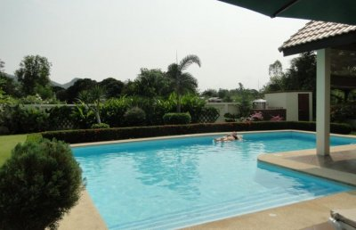 Luxury Villa Hua Hin with large pool and garden