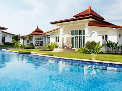 2 Bed Bali Resort Style Pool Villa + Jacuzzi South Hua Hin