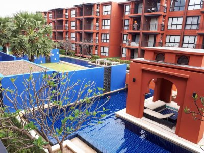 Bluroc apartment 2 bed 2 bath 90 sqm soi 29 Hua Hin