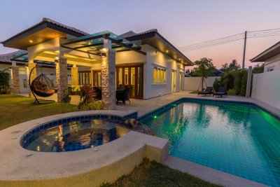 Orchid Paradise Homes OPV204 pool villa near city Hua Hin