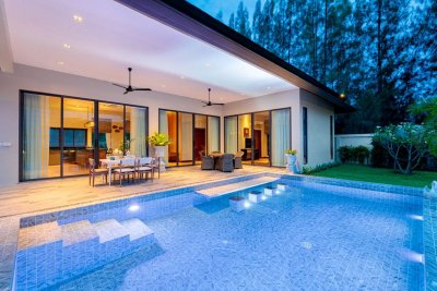 Luxury brand new pool villa in Black mountain Hua Hin