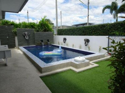 Pool villa 2 bed 2 baht near city Hua Hin