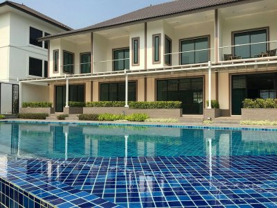 New built townhouse near soi 112 ready to move in Hua Hin