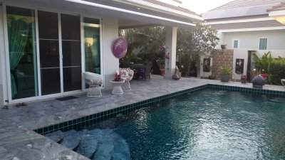 Woodlands pool villa soi 88 up Hua Hin