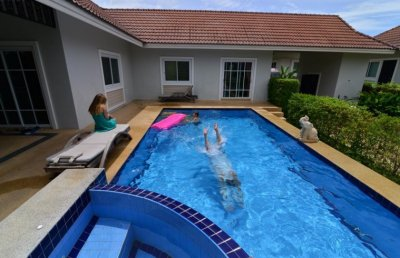 Luxury pool villa in Hua Hin