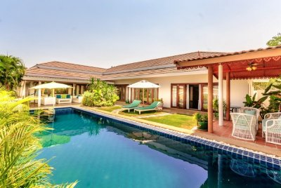 Well Design and Maintained 3 Bed Pool Villa west Hua Hin
