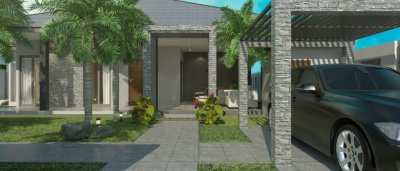 Pool villa 208 sqm west Hua Hin 10 minutes city