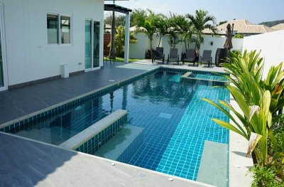 Orchid Paradise Homes OPV B14 pool villa near city Hua Hin