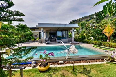 Lovely 3 Bed Pool Villa with Sea and Mountain Views Hua Hin