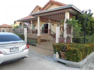 Pool villa 132 sqm north Hua Hin 10 minutes city