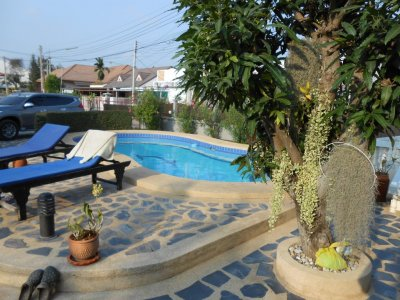 Pool villa 7 bedrooms near downtown Hua Hin