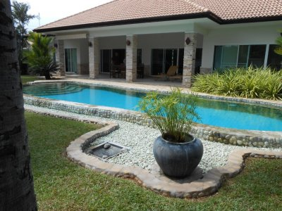 Large pool villa Pak Nam Pran Pranburi