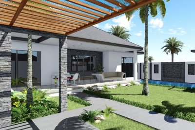 Pool villa 161 sqm south Hua Hin 10 minutes city