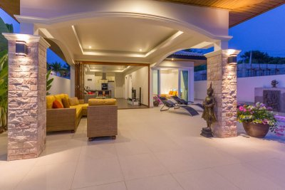 Orchid Paradise Homes OPV209 pool villa near city Hua Hin