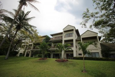 Palm Hills Golf Club & Residence Good Quality 3 Bed Condo norra Hua Hin
