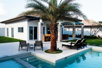 Exclusive pool villa 220 Orchid near city Hua Hin