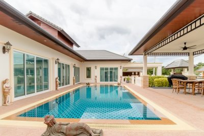 High Quality 3 Bed L-Shape Pool Villa Hua Hin