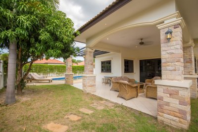 Pool villa 129 sqm ready to move near city Hua Hin