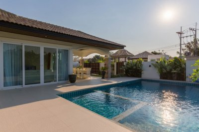 Paradise Homes new built pool villa 96 sqm Hua Hin