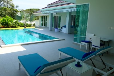 Woodlands new built pool villa 335 sqm ready to move in Hua Hin