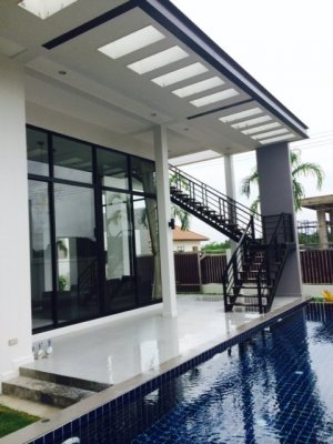 Pool villa 218 sqm south of Hua Hin