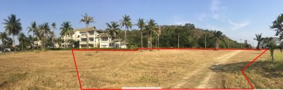 Palm hills Empty Land (plot no.64 : 6,408 sq.m. /4 Rai) Hua Hin