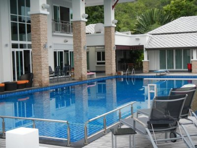 Large property, the Palm Hills Golf Club in Hua Hin