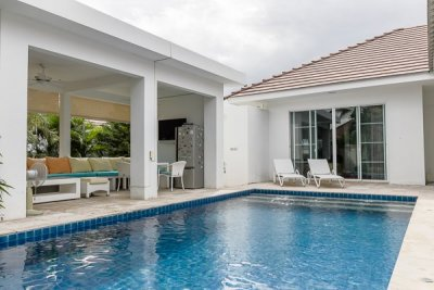 Good Quality 3 Bed Pool Villa västra Hua Hin